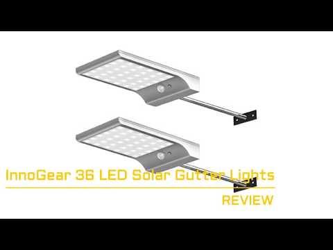 Review - InnoGear 36 LED Solar Gutter Lights
