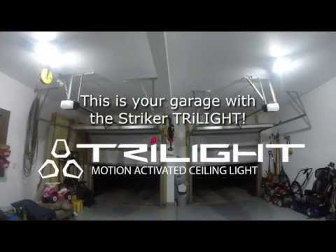 Striker TRiLIGHT - Floods Your Garage With Light The Moment You Drive Home