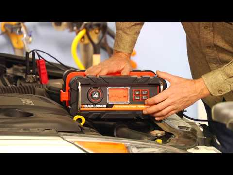 Black & Decker 25 Amp Battery Charger with 75 amp Engine Start