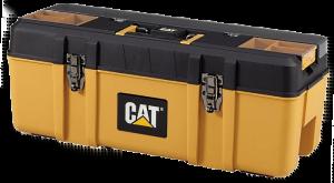 CAT Tool Storage Premium Plastic Portable Tool Box