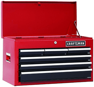 Craftsman 6 Drawer Heavy Duty Top Tool Chest