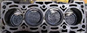 Deposit in Engine