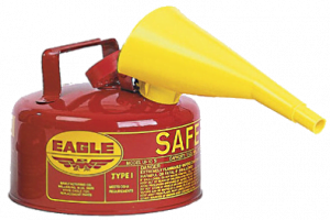 Eagle Galvanized Steel Safety Can