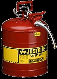 Justrite Type II AccuFlow Steel Can