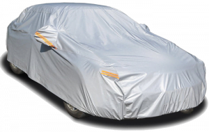 Kayme 4-Layer Waterproof All-Weather Car Cover