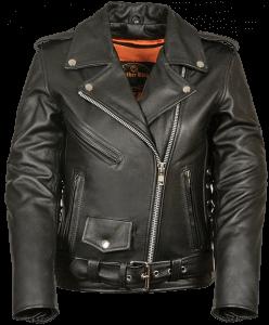 Milwaukee Leather Ladies Classic Motorcycle Jacket