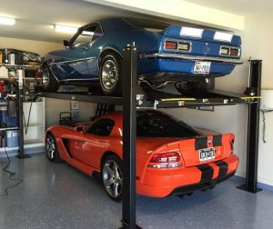 Two Cars in One-Car Garage