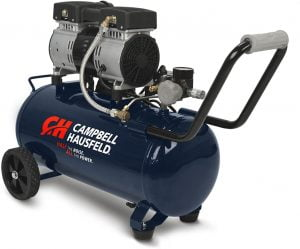 Campbell Hausfeld Portable Quiet Air Compressor DC080500