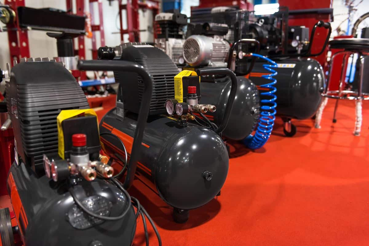 best air compressor for home garage header image