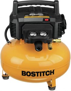 bostitch pancake air compressor yellow