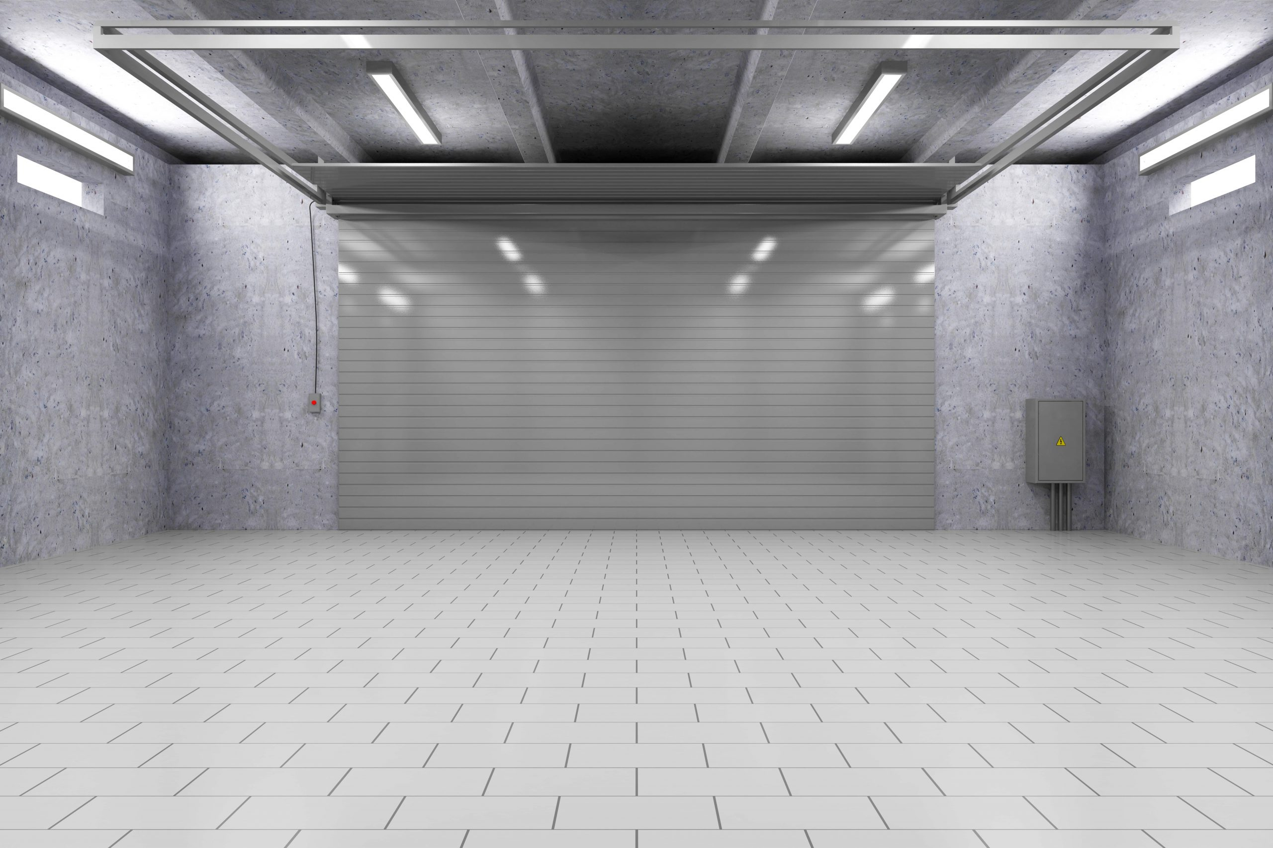 types of garage lighting