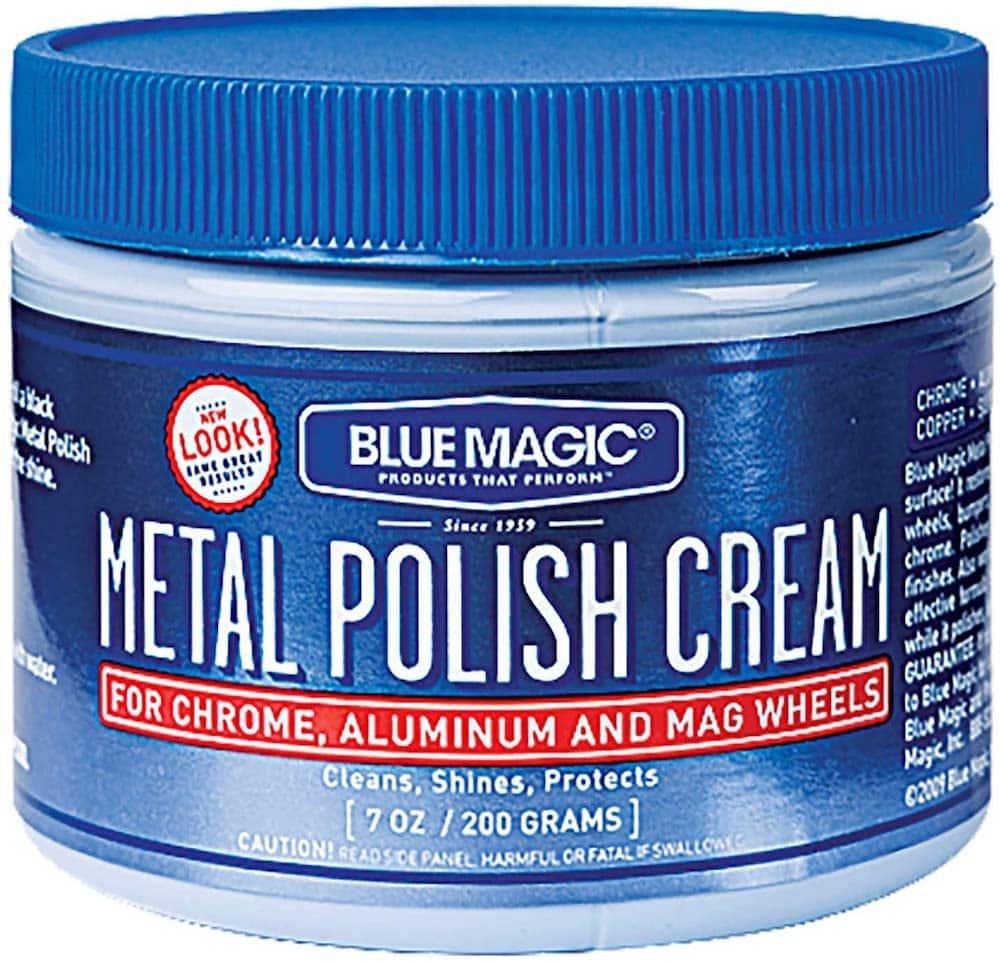 How to Polish Aluminum Blue Magic 400 7Oz Mtl Polish Cream